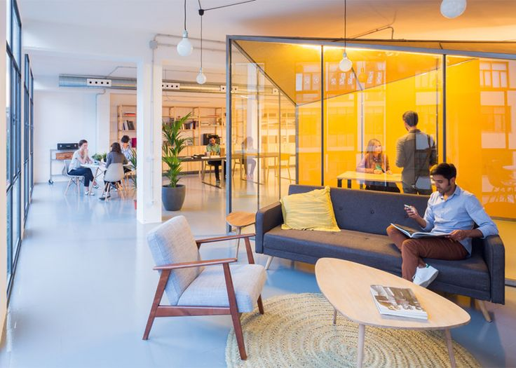 3 ways collaborative workspaces inspire innovation Coworking space design ideas